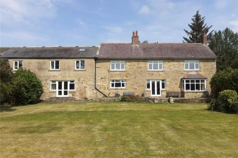 Abshiel Farm, Longhorsley, Morpeth, Northumberland, NE65. 5 bedroom detached house