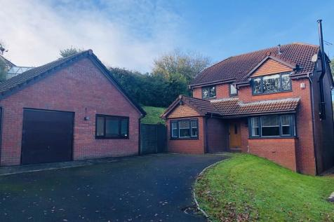Ffordd Dryden, Killay, Swansea, City And County of Swansea. SA2 7PD. 4 bedroom detached house for sale