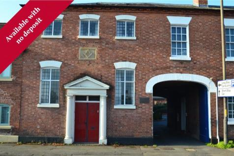 Flat 8 The Old Malthouse, 40 South Street, Leominster. 1 bedroom apartment
