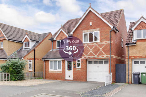 Swallow Court, St. Neots. 4 bedroom detached house