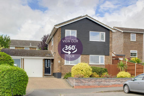 Romney Court, Eaton Ford, St. Neots. 4 bedroom detached house