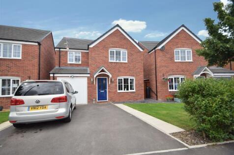 3 Broadhead Drive, Berwick Grange, Shrewsbury SY1 4FB. 4 bedroom detached house