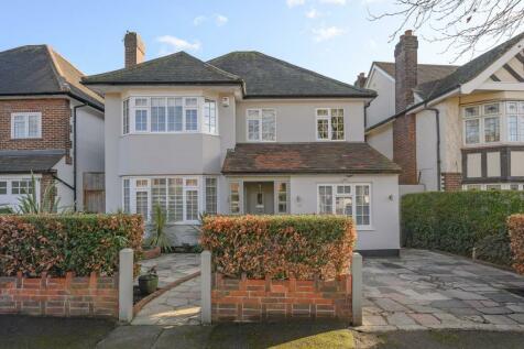 Copse Hill, West Wimbledon, SW20. 4 bedroom detached house for sale