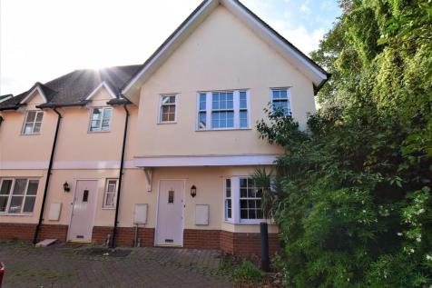 St James Rise, East Hill, Colchester. 2 bedroom semi-detached house