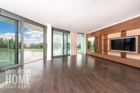 Goldhurst House, Parr's Way, Fulham Reach, W6. 3 bedroom apartment for sale