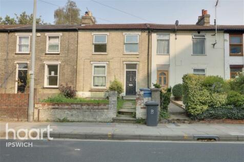 Norwich Road, Ipswich. 2 bedroom flat