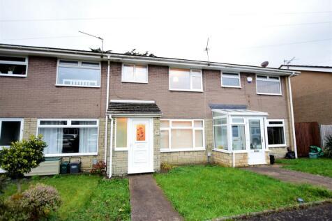 Woodham Close, Barry. 3 bedroom terraced house