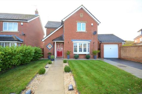 Weybourne Lea, East Shore Village, Seaham, County Durham, SR7. 3 bedroom detached house