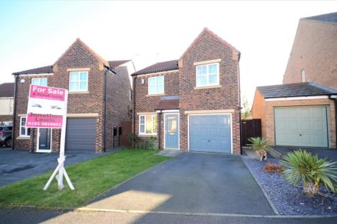 Caister Close, East Shore Village, Seaham, County Durham, SR7. 3 bedroom detached house