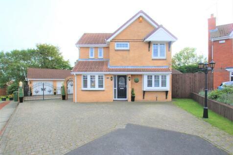 Blaykeston Close, Manor Park, Seaton, Seaham, County Durham, SR7. 5 bedroom detached house for sale