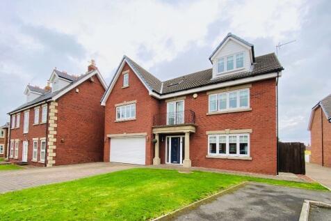 Boulmer Lea, East Shore Village, Seaham, County Durham, SR7. 6 bedroom detached house for sale