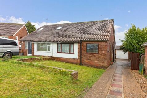 Quantock Close, Worthing. 2 bedroom semi-detached bungalow