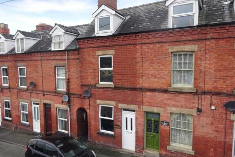 Frankwell Terrace, Frankwell Street, Newtown, Powys, Mid Wales - Terraced / 3 bedroom terraced house for sale / £89,500