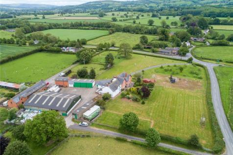 Montgomery, Powys. 6 bedroom equestrian facility for sale