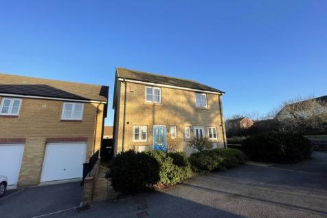 Meadow Rise, Newton Abbot. 2 bedroom semi-detached house