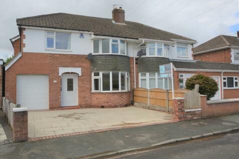 Vaudrey Drive, Woolston, Warrington. 4 bedroom semi-detached house