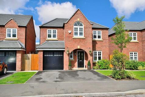 Commissioner Square, Sandford Village, Warrington. 4 bedroom detached house