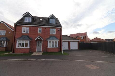 Kirkharle Crescent, Ashington. 6 bedroom detached house for sale