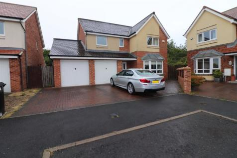 Coneygarth Place, Ashington. 4 bedroom detached house for sale
