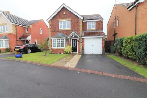 Faldo Drive, Seaton Vale, Ashington. 4 bedroom detached house for sale