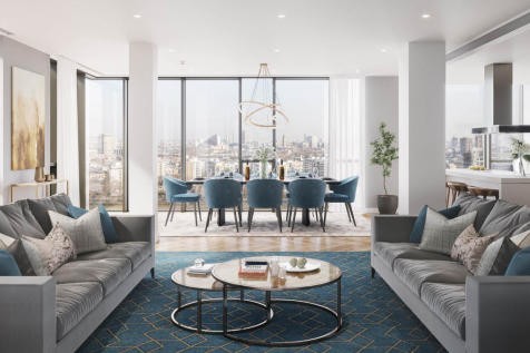 Battersea Power Station, Nine Elms, London SW8. 3 bedroom penthouse for sale
