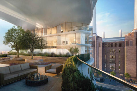 Battersea Power Station, Nine Elms, London SW8. 4 bedroom apartment for sale