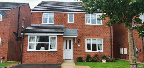 Grindleford Place, Warrington, Warrington. 4 bedroom detached house for sale
