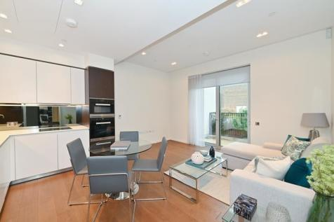 Columbia Gardens, Lillie Square, London, SW6. 1 bedroom flat