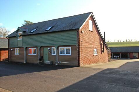 Charming converted barn in Little Somborne. 3 bedroom semi-detached house