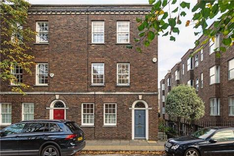West Square, Kennington, London, SE11. 4 bedroom end of terrace house for sale