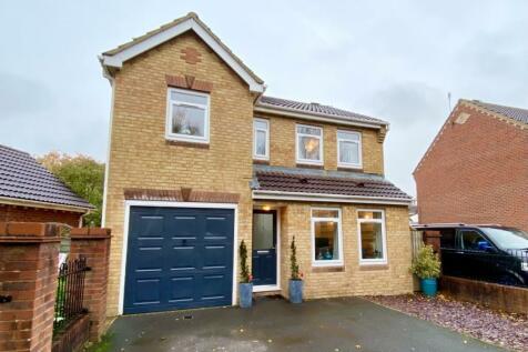 Dandys Meadow, Portishead, Bristol, BS20. 3 bedroom detached house for sale