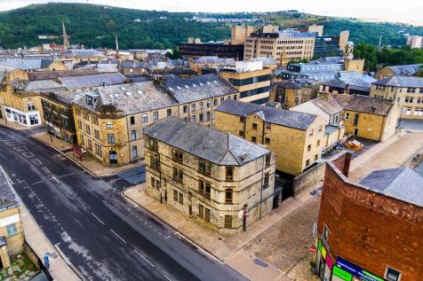 Derald House, King Cross Street, Halifax, West Yorkshire, HX1. Block of apartments for sale