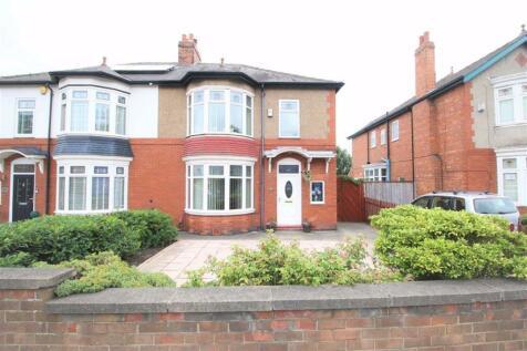 North Road, Darlington. 3 bedroom semi-detached house