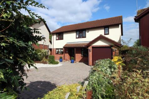 Ffos-y-fran, Bassaleg, Newport. 4 bedroom detached house for sale