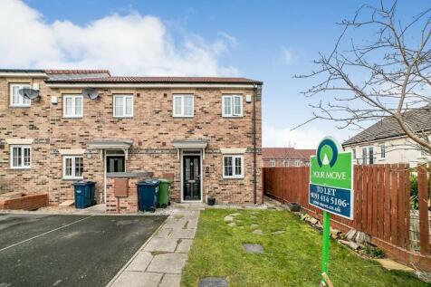 Low Mill Villas, Blaydon-On-Tyne, NE21. 2 bedroom terraced house
