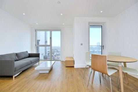 Brent House, Wandsworth Road, London, SW8. 1 bedroom flat
