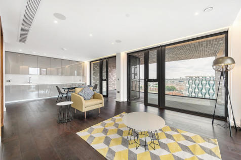 Madeira Tower, The Residence, Nine Elms. 3 bedroom apartment