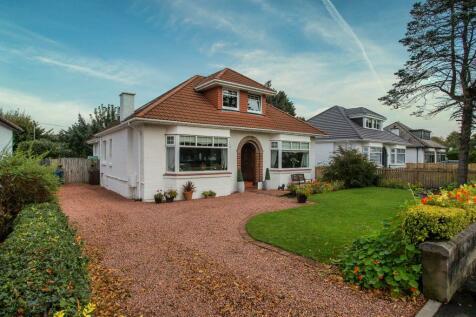 21 Darvel Crescent, Paisley, PA1 3EG. 4 bedroom detached bungalow
