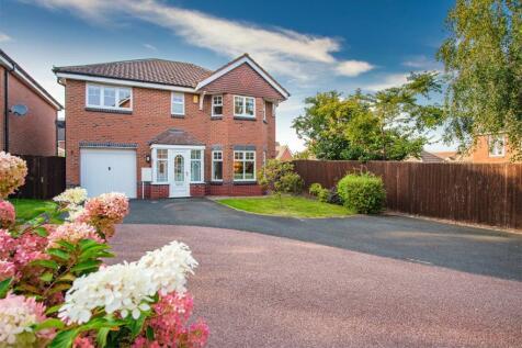 Eider Drive, Apley, Telford, Shropshire. 4 bedroom detached house
