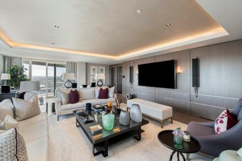 Chelsea Creek Tower, 12 Park Street, London, SW6. 5 bedroom flat