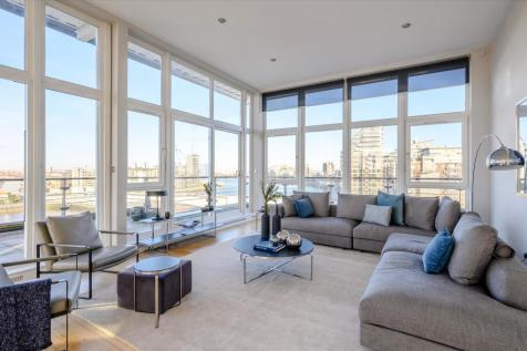 Dolphin House, Smugglers Way, London, SW18. 3 bedroom flat for sale