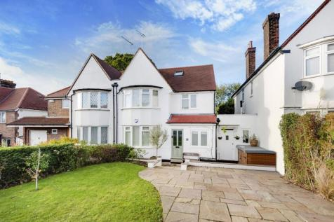 Basing Hill, London. 5 bedroom semi-detached house for sale