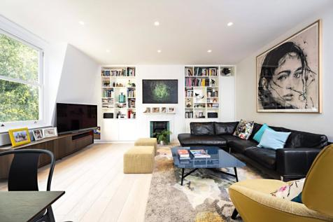 Aberdare Gardens, South Hampstead. 3 bedroom apartment for sale