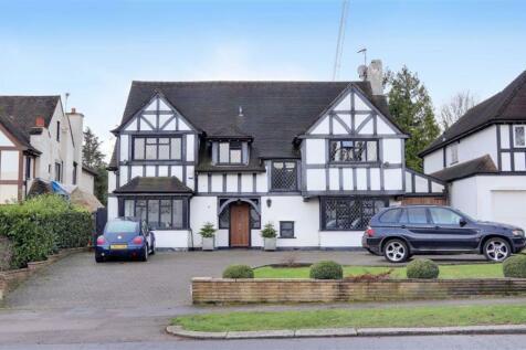 Lancaster Avenue, Hadley Wood, Hertfordshire. 6 bedroom detached house for sale