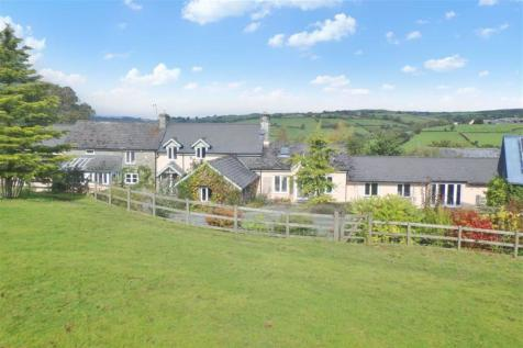 Boughrood, Nr Brecon, Powys. 4 bedroom character property for sale