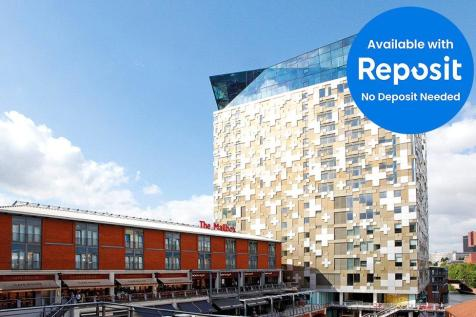 The Cube West, 197 Wharfside Street, Birmingham, West Midlands, B1. 1 bedroom apartment