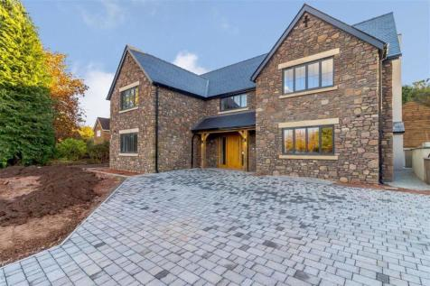 The Narth, Monmouth, Monmouthshire, NP25. 5 bedroom detached house for sale