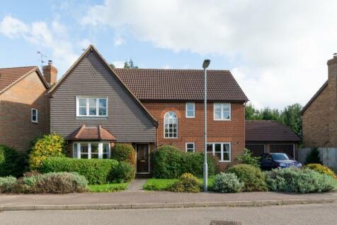 Tithe Barn Close, St. Albans, Hertfordshire. 5 bedroom detached house for sale