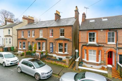 Liverpool Road, St. Albans, Hertfordshire. 3 bedroom end of terrace house for sale