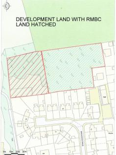 Potential Development Site, Allott Close, Ravenfield, Rotherham. Plot for sale